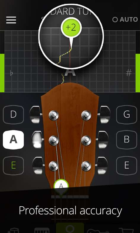 Guitar Tuna - The Ultimate free Tuner + Metronome Screenshots 1