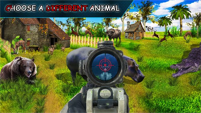 Get Wild Jungle Animal Hunting Sniper Shooting 3D
