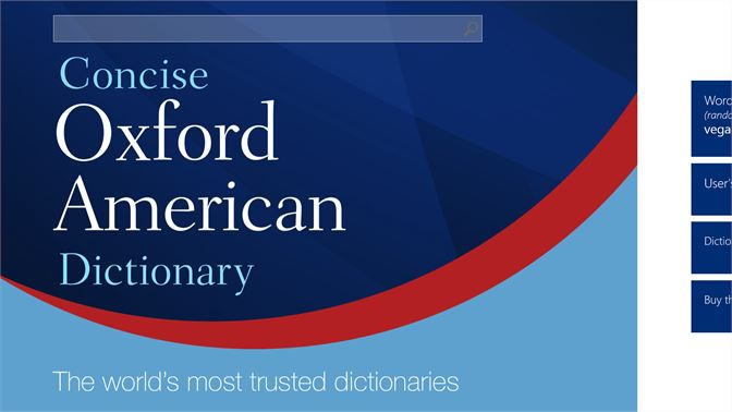Buy Concise Oxford American Dictionary - Microsoft Store