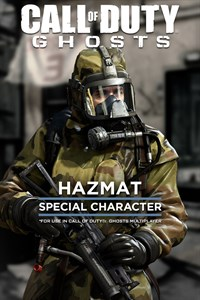Call of Duty: Ghosts - Personnage spécial Hazmat