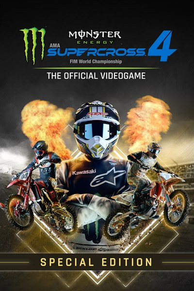 Monster Energy Supercross 4 - Special Edition - Xbox Series X|S