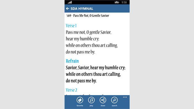 Get SDA Hymnal LITE - Microsoft Store