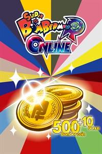 500 (+10 Bonus) Bomber coin