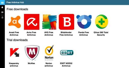 Free Antivirus Hub for Windows 10 PC & Mobile free download | TopWinData.com