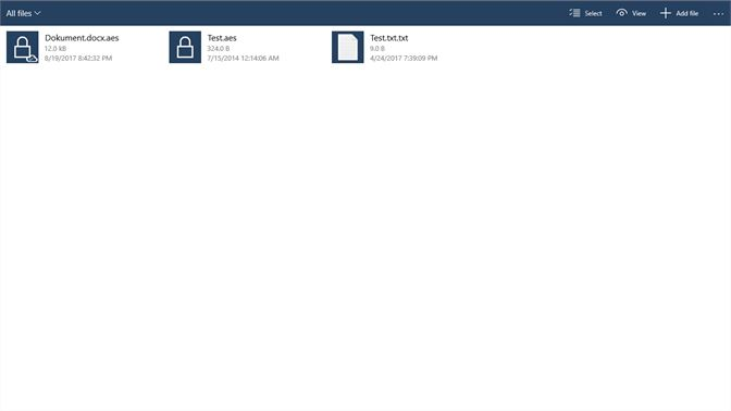 Get AEScryptor - Microsoft Store