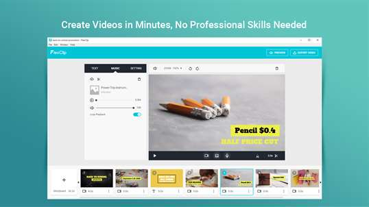 FlexClip: Video Editor & Movie Maker screenshot 1
