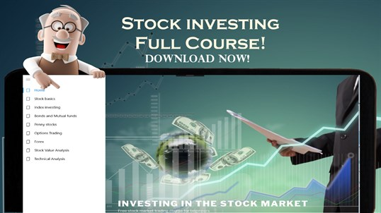 Stock market investing Course for beginners screenshot