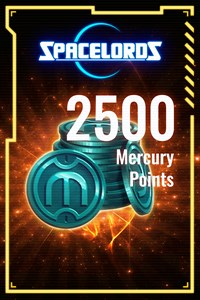 2500 Mercury Points