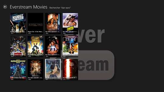 WINDOWS MOVIES POUR TÉLÉCHARGER EVERSTREAM
