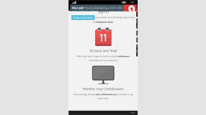 Get Unfollower Stats for twitter - Microsoft Store