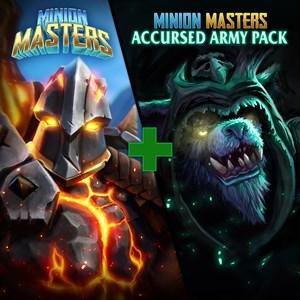 Pack gratuit : Minion Masters + pack Armée maudite Xbox One