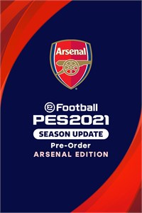 Pre-Order: eFootball PES 2021 SEASON UPDATE ARSENAL EDITION
