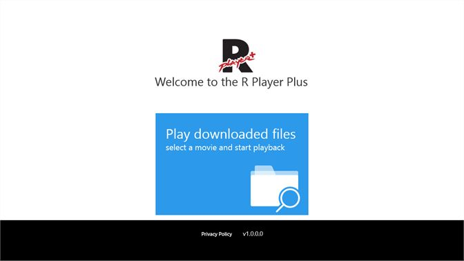 Get R Player Plus - Microsoft Store