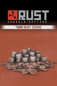 Rust Console Edition - 7800 Rust Coins