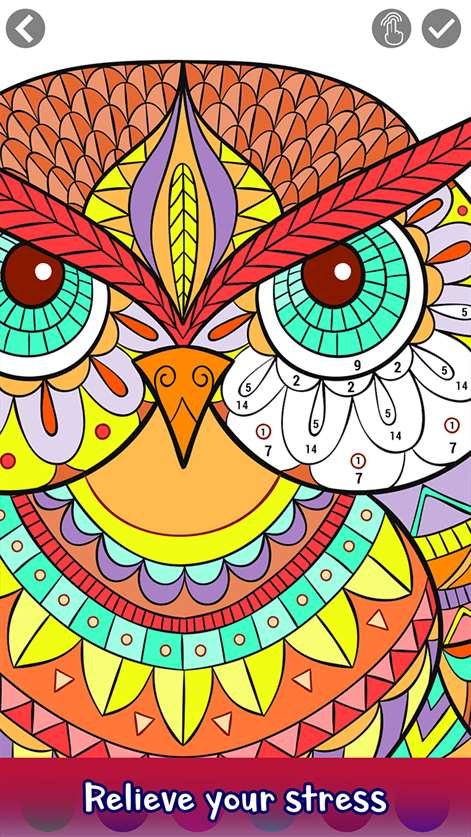 Adult Color by Number Coloring Book Pages for Windows 10 ...