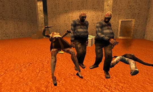 Blood Zombies Dead Target Killer screenshot 3