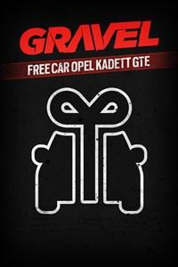 Carátula del juego Gravel Free car Opel Kadett GTE
