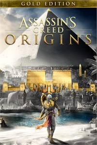 Carátula del juego Assassin's Creed Origins - GOLD EDITION