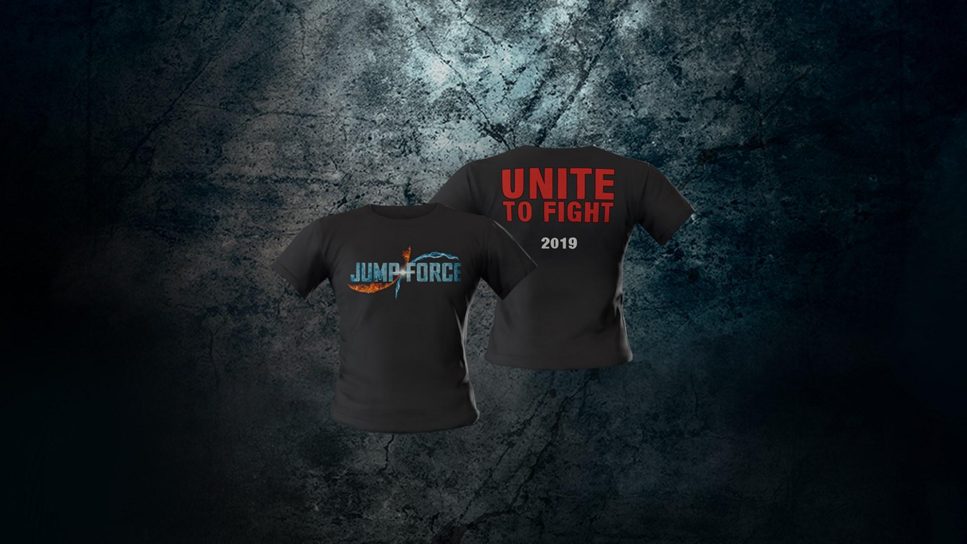 JUMP FORCE - Game Logo Avatar T-Shirt