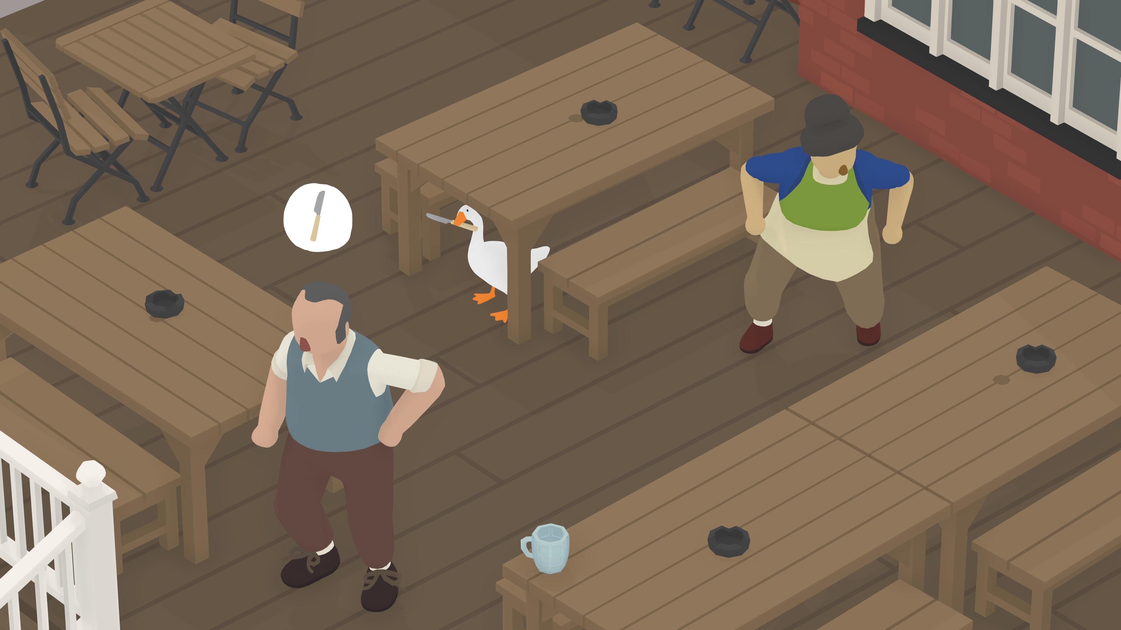 Скриншот №12 к Untitled Goose Game