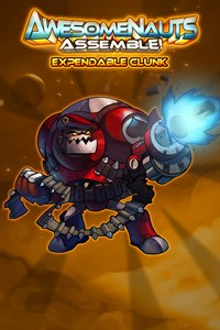 Carátula del juego Expendable Clunk - Awesomenauts Assemble! Skin