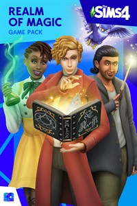Carátula del juego The Sims 4 Realm of Magic