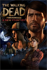 Carátula para el juego The Walking Dead: A New Frontier - The Complete Season (Episodes 1-5) de Xbox 360