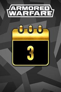 Armored Warfare - 3 jours de temps Premium