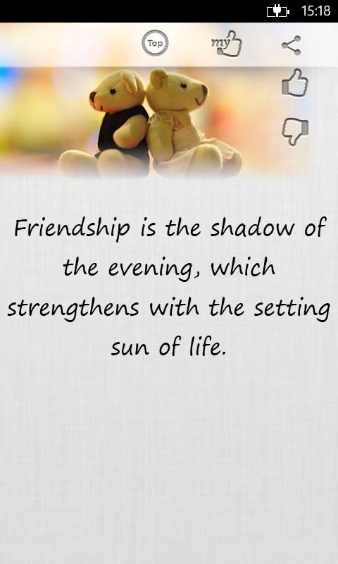 dapatkan friendship quotes store id id