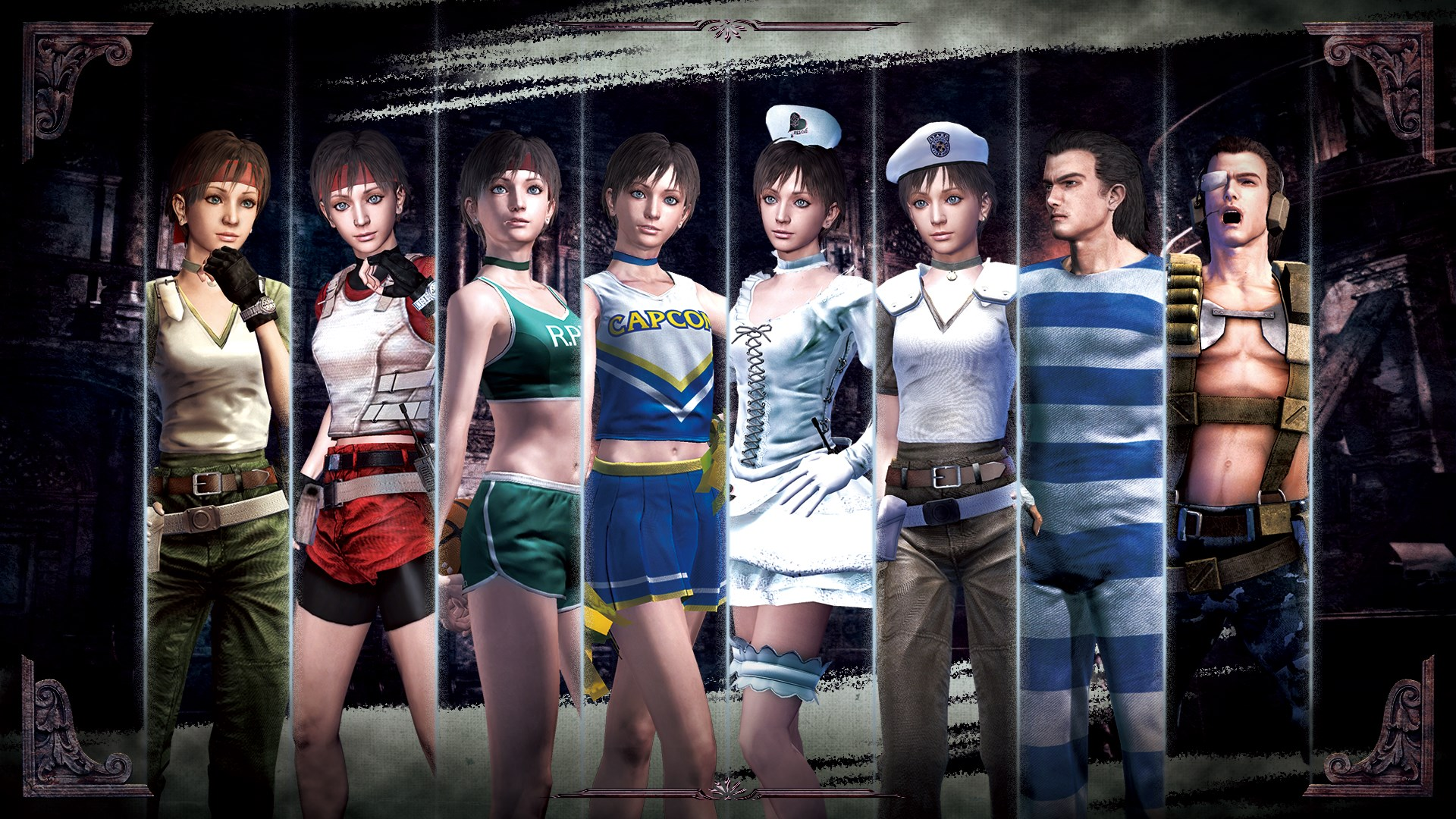 Resident Evil 0 Complete Costume Pack