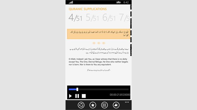Get Quranic & Masnoon Supplications - Microsoft Store