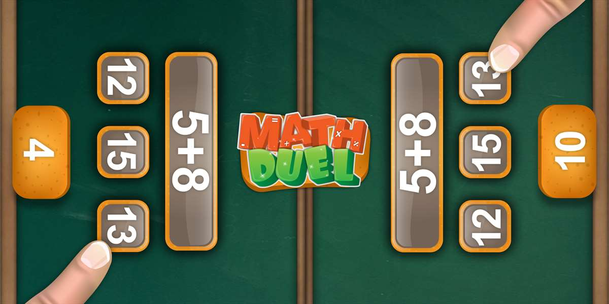 Get Cool Math Duel: 2 Player Game for Kids and Adults - Microsoft Store