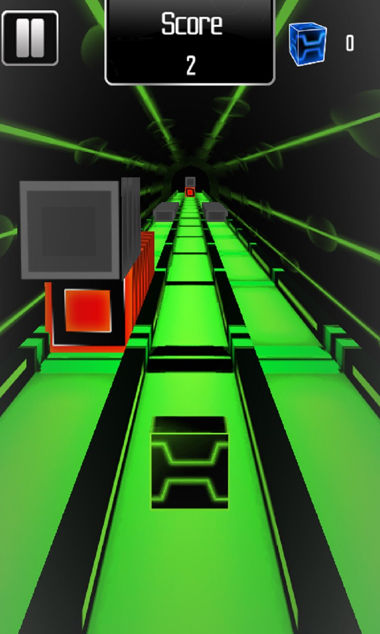 Geometry Cube Rush - Racing Cube Jump Game