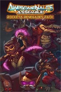 Rocket's Renegades - Awesomenauts Assemble! Character Pack