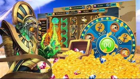 Slots Quest - Pharaoh's Way Captures d'écran 2