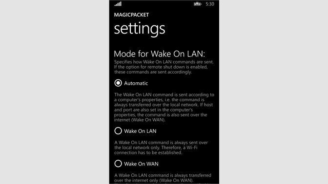 Get MagicPacket - Microsoft Store