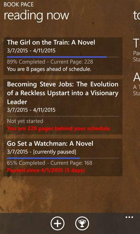 Book Pace Screenshots 1