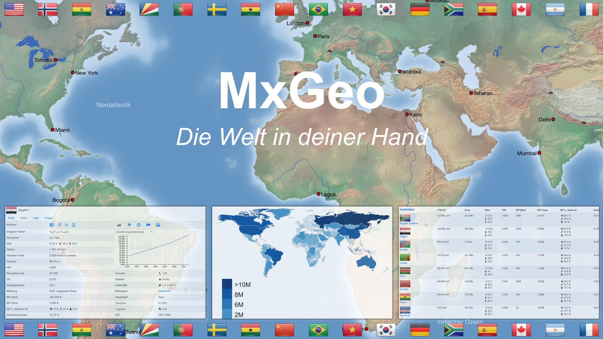 958498d9249179 Weltatlas und Quiz MxGeo Free beziehen – Microsoft Store de-DE