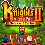 Knights of Pen & Paper 2 Deluxiest Edition Logo