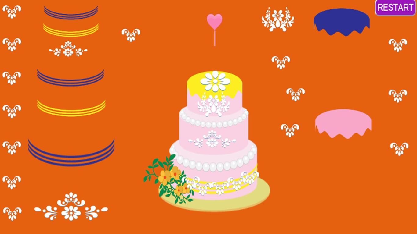 Wedding Cake Baking Game for Windows 10 free download on ...