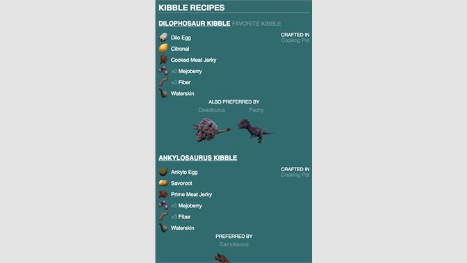 Get Dododex Taming Calculator for Ark: Survival Evolved