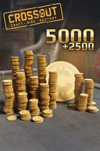 Carátula del juego Crossout - 5000 (+2500 Bonus) Coins
