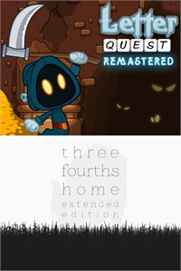 Carátula del juego Letter Quest: Grimm's Journey/Three Fourths Home Extended Edition Bundle