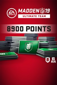 Набор 8900 очков Madden NFL 19 Ultimate Team