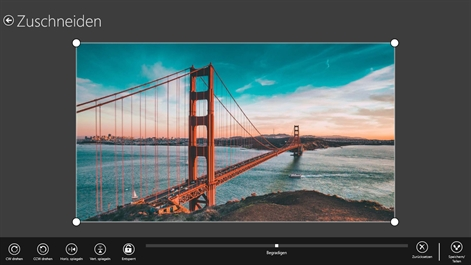Adobe Photoshop Express – Einfache Fotobearbeitung Screenshot