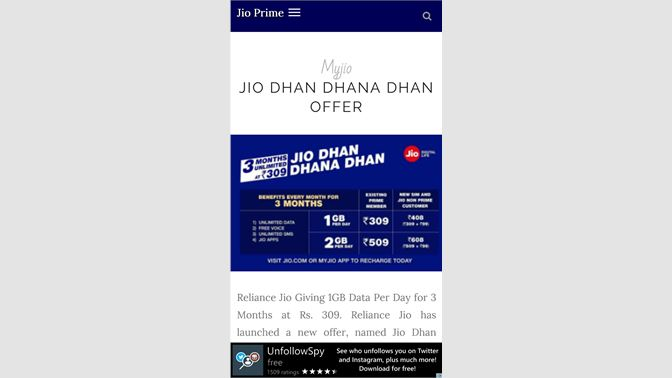 Get Prime For Jio - Microsoft Store