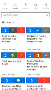 Microsoft Flow screenshot 2