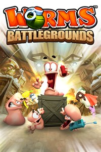 Carátula del juego Worms Battlegrounds
