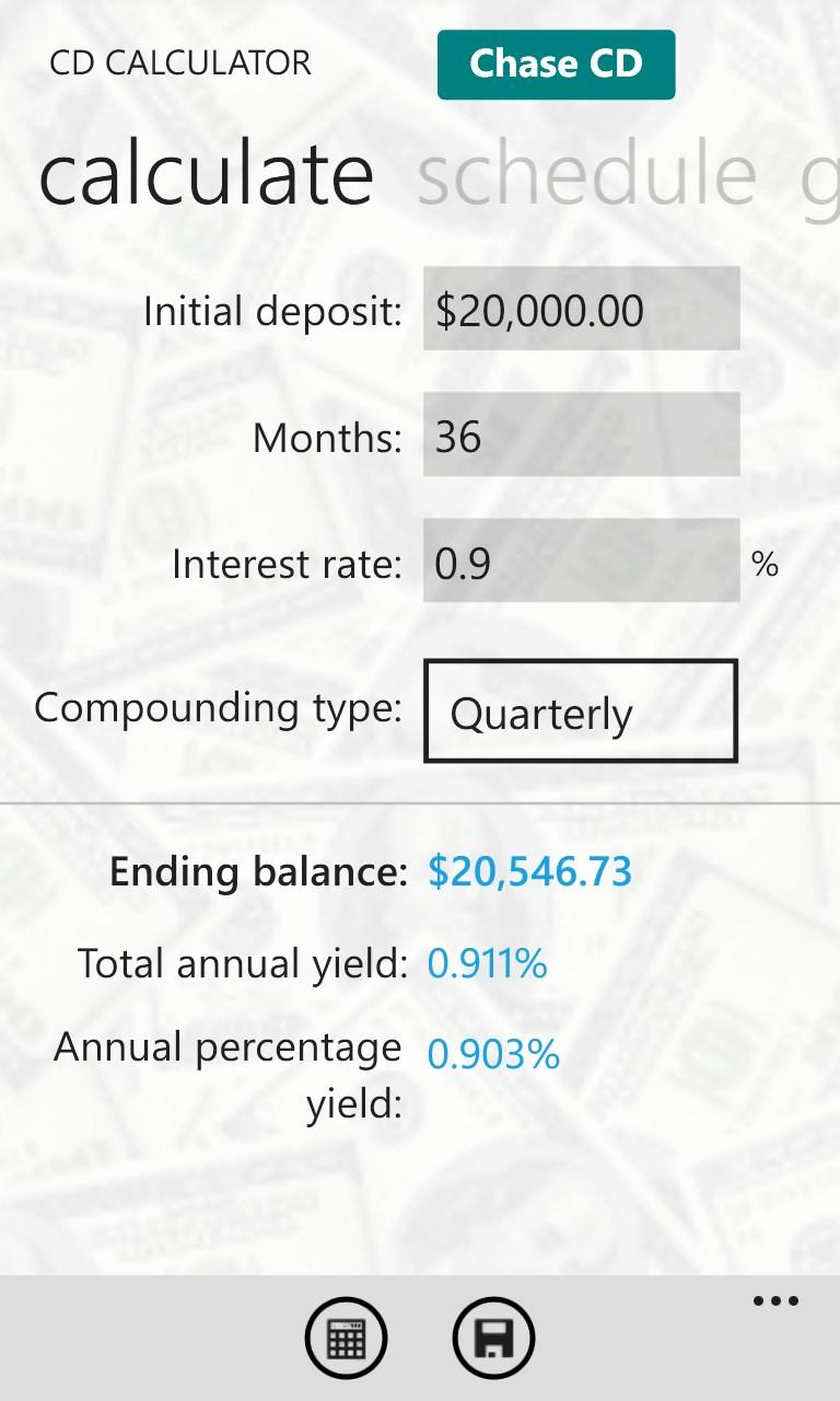 Savings Calculators Pro