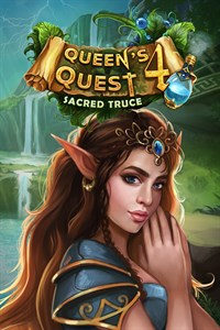 Carátula para el juego Queen's Quest 4: Sacred Truce (Xbox One Version) de Xbox One